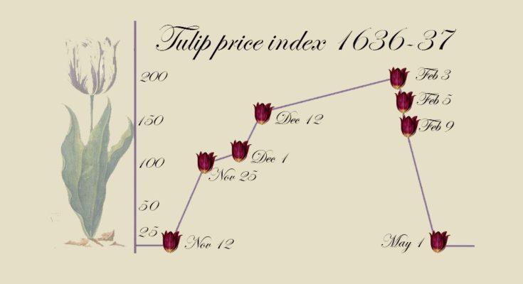 حباب قیمتی و رشد قیمت شدید گل لاله